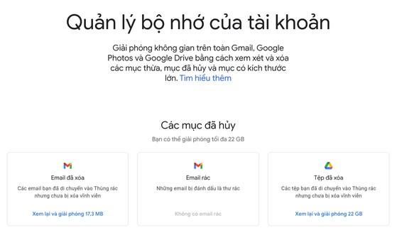 3 mẹo lấy lại dung lượng lưu trữ trên Gmail - 3